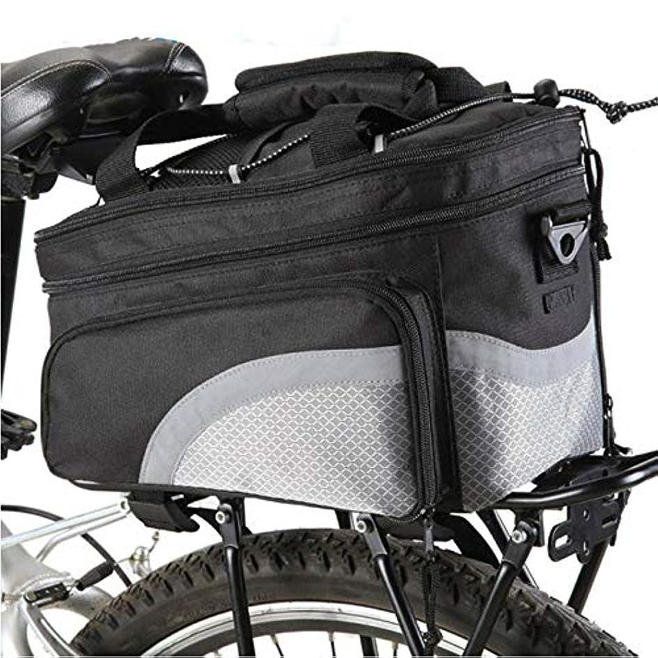 代わりのテレビ局計算可能自転車パニエ自転車パニエバッグ、ポータブル自転車フレームハードシェル収納ケースカバー自転車ラック靴カバー用男性女性 サドルバッグ?フレームバッグ