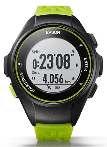818b751108 [エプソン リスタブルジーピーエス]EPSON WristableGPS 腕時計 GPSランニングウォッチ Q-10G