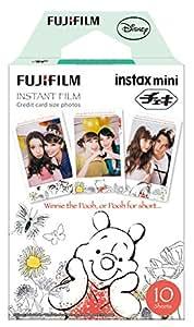 FUJIFILM インスタントカメラ チェキ用フィルム 10枚入 絵柄 (くまのプーさん) INSTAX MINI POOH WW 1