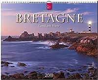 Bretagne - Land am Meer 2019: Grossformat-Kalender