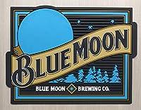 Blue Moon バーマット プロフェッショナル 流出マット 待機ステーション ドリップマット 12x9 コースター