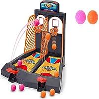 ChoneバスケットボールShootingゲームスコアToy for 2-player、子供ミニテーブルトップバスケットボールゲーム、ファミリFunnyストレスの軽減Toys