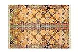 シルク100%パイル カービング加工 光沢ばつぐん 完全手織り 中国伝統工芸品 6mmパイル シルク緞通 120L 5063 244X244cm