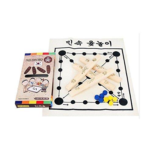 韓国語ボードゲームYUT Nori YutゲームYootゲームYutnoriセット、科学、おもちゃ、2018