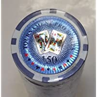 RDR Casino Poker Chips 11.25グラムTournament Proシリーズ50個50.00 Denomination