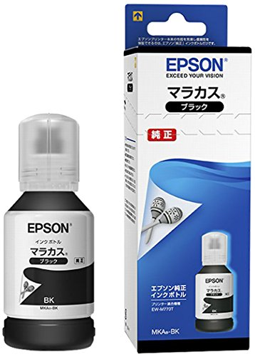 EPSON 純正 インクボトル MKA-BK ブラック マラカス