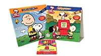 Peanutsカラー& Read Along with Stickers Book 2- Pack