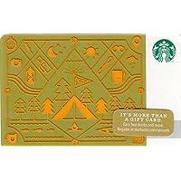 スターバックス スタバ カード 2014 ホリデー99 No.31『キャンプ』海外版