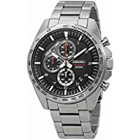 Seiko neo sports Mens Analog Quartz Watch with Stainless Steel bracelet SSB319P1