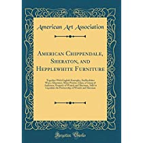 American Chippendale, Sheraton, and Hepplewhite Furniture: Together with English Examples, Staffordshire Ware, Glassware, Silver Pewter, Glass, a Group of Andirons; Property of Winick and Sherman, Sold to Liquidate the Partnership of Winick and Sherman