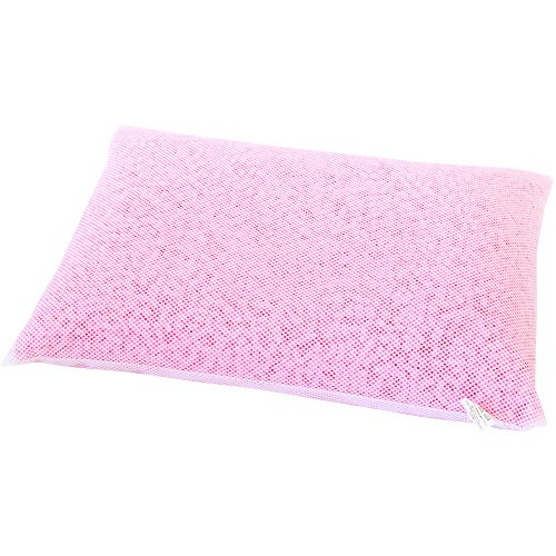 日本製 洗える パイプ枕 やわらかめ 43×63cm ピンク ソフトパイプ クズが出にくい 新品パイプ使用 バージンパイプ