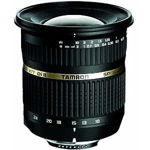 【セット品】TAMRON 超広角ズームレンズ SP AF10-24mm F3.5-4.5 DiII ニコン用 B001NII APS-C専用&ハクバ レンズ保護フィルター(MCレンズガード77mm)