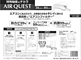 ダイアンサービス AIR QUEST(エアークエスト) エアコンフィルター 小 (38cmx80cm) 2枚入/パック AQ1-01-02