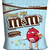 Bunny Mix M&M's Milk Chocolate - 56 Oz Jumbo Size Bag M&M's バニーミックス ミルクチョコレート1587g ジャンボサイズ イースター仕様 〔アメリカ直送〕