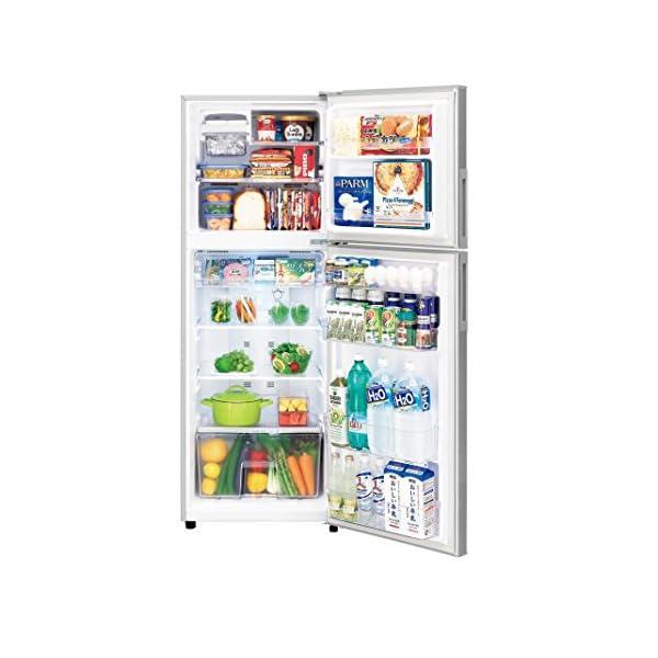 シャープ 冷蔵庫 2ドア 225L シルバー ...の紹介画像3