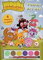 Moshi Monsters: Poster Art Set with Paints