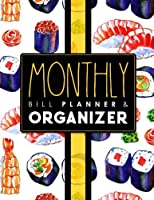 monthly bill planner organizer bill payment book life budget