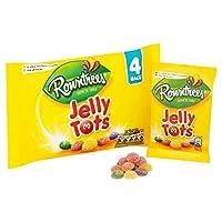 ラウントリーのゼリートッツのマルチパック4×28グラム (x 6) - Rowntree's Jelly Tots Multipack 4 x 28g (Pack of 6) [並行輸入品]