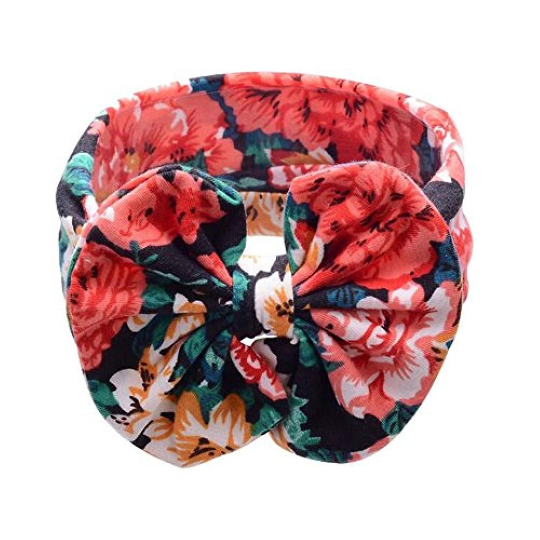 赤ちゃんの女の子のヘアバンドかわいい幼児の弓のヘッドバンド花のヘアバンド- A2