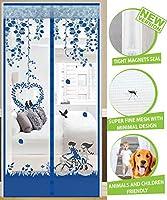 フライラティスカーテン磁気蚊帳 の磁石フライングスクリーンドア蚊防虫磁気スクリーンドア,F-70*200