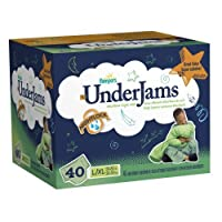 Pampers UnderJams Boys Size 8 (L/XL) Big Pack 40 Count by Pampers [並行輸入品]