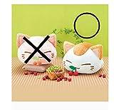 ねむネコ さくらんぼ BIGぬいぐるみ 白 単品