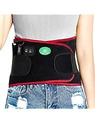 腰用温熱ベルト 腰を支える 腰間盤際立っている 遠赤外線 腰椎の痛み緩和 3段階温度調節 充電式マッサージ振動する労損 熱をつける男女
