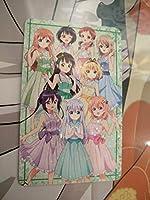 ご注文はうさぎですか??×アトレ秋葉原 キャラクターカード 特典 プレゼント 5周年記念コラボ ごちうさシークレット 全員 anime グッズ