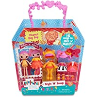 Lalaloopsy Minis Style 'N' Swap Doll- Peanut Big Top by Lalaloopsy
