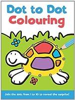 Dot to Dot and Colour: 1 - 10