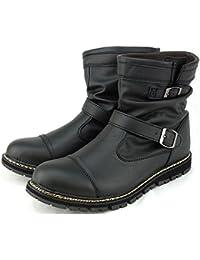 LIBEROTO EDWIN (リベルト エドウイン)防水 エンジニアブーツ レインブーツ スノーブーツ ワークブーツ メンズ 靴