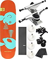 "Alien Workshop Mind Control Smallスケートボード7.87"" X 31.25"" Complete Skateboard–7項目のバンドル"