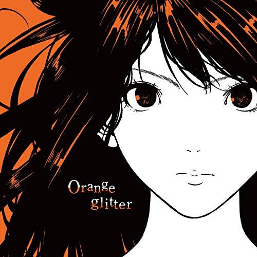 Orange glitter