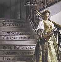 Violin Sonatas by GEORGE FRIDERIC HANDEL (1999-11-01)