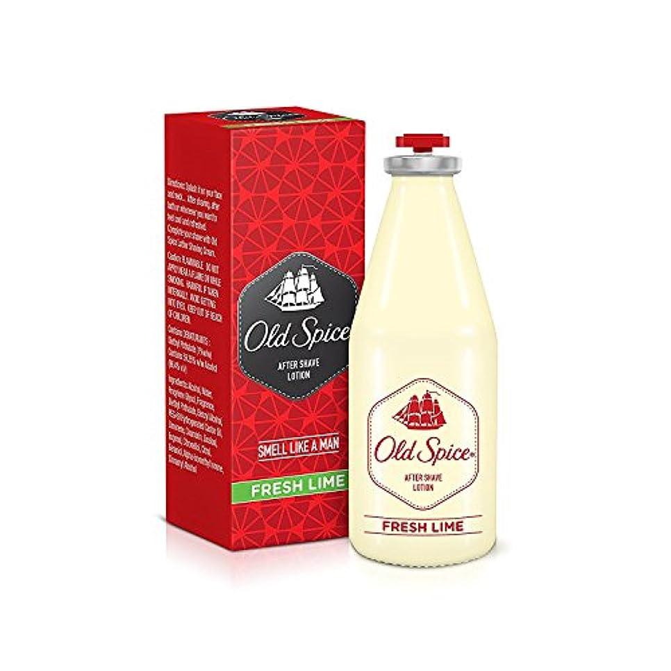 フィールド無臭猫背Old Spice After Shave Lotion 150ml - Fresh lime Fragrances