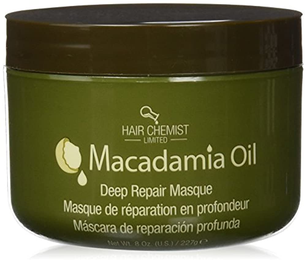 滑り台テレマコス消えるHair Chemist ヘアマスク マカダミア オイル ディープリペアマスク 227g Macadamia Oil Deep Repair Mask 1434 New York