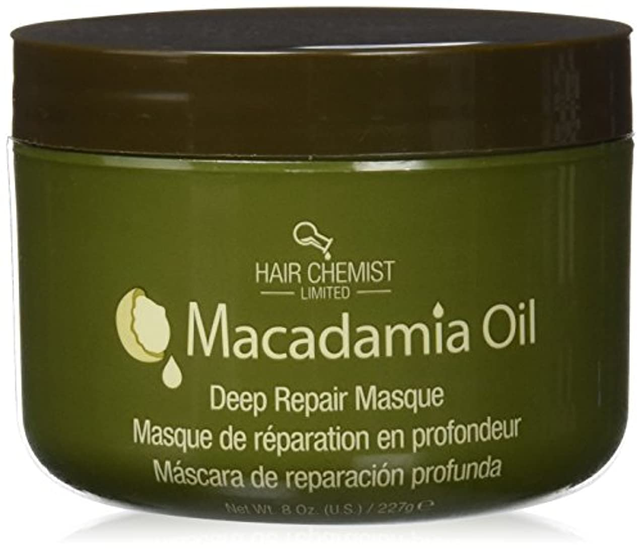 放課後スクラップ販売員Hair Chemist ヘアマスク マカダミア オイル ディープリペアマスク 227g Macadamia Oil Deep Repair Mask 1434 New York