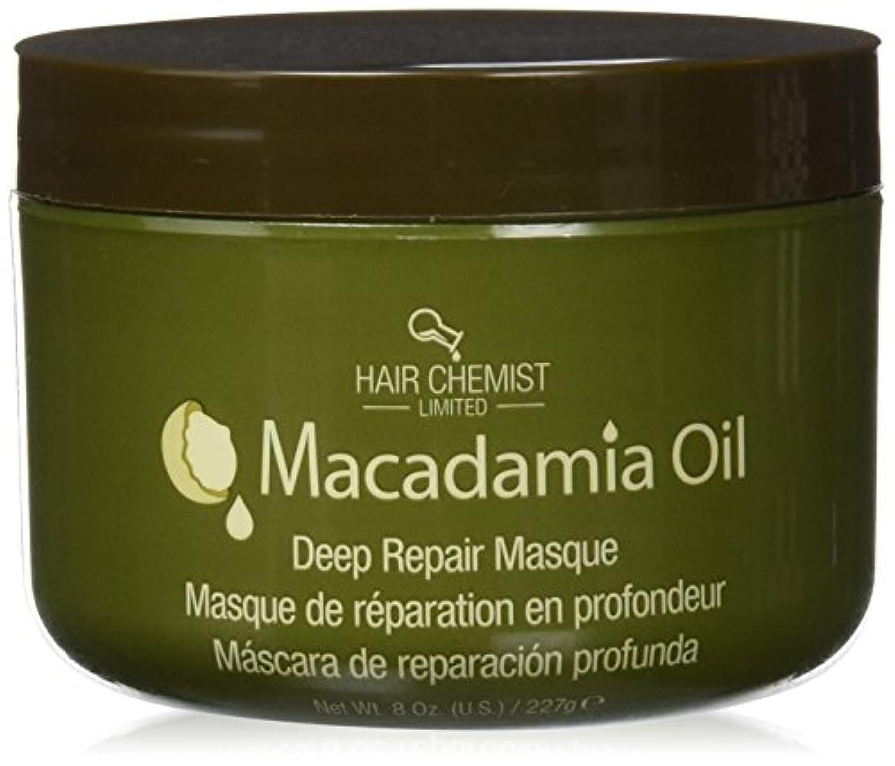 難民ダメージ受けるHair Chemist ヘアマスク マカダミア オイル ディープリペアマスク 227g Macadamia Oil Deep Repair Mask 1434 New York