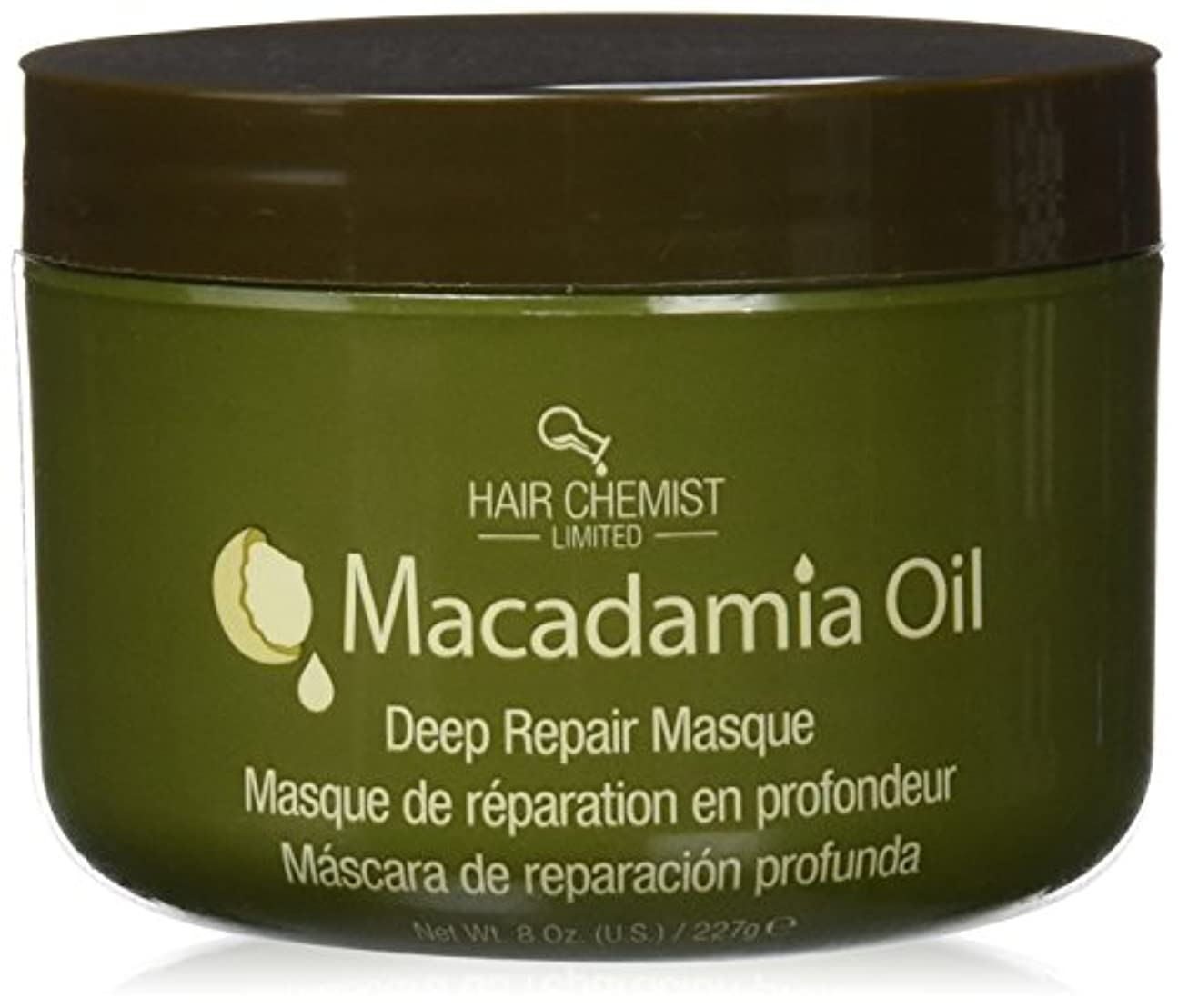 ホラーブートケージHair Chemist ヘアマスク マカダミア オイル ディープリペアマスク 227g Macadamia Oil Deep Repair Mask 1434 New York