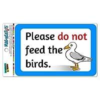 Don't Feed the 鳥s 海カモメ MAG-格好いい'S(TM)自動車カー冷蔵庫ロッカービニールマグネット