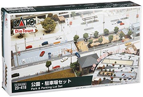 KATO Nゲージ 公園・駐車場セット 23-418 鉄道模型用品