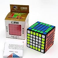 [CuberSpeed]CuberSpeed Yuxin Red unicorn 6x6 cube Black Red Kirin Yuxin Zhisheng 6x6x6 cube Kct440 [並行輸入品]