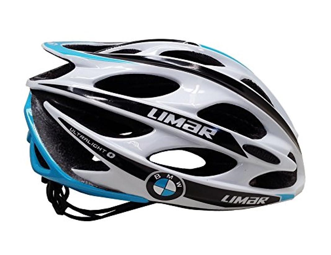 作業吐き出す教会Limar Ultralight +自転車用ヘルメットチームBMW、中