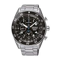 セイコー SEIKO クオーツ 高速クロノ メンズ 腕時計 SNDG59P1 ブラック[逆輸入品][wimp]