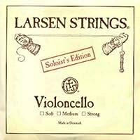 CUERDA VIOLONCELLO - Larsen (Soloist) (Acero) 1ェ Suave Cello 4/4 (La) A (Una Unidad)