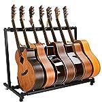 Cific ギター・ベース用スタンド 省スペース 組み立て (7本収納)