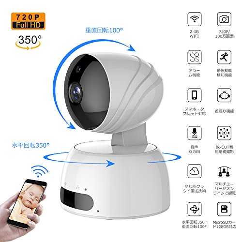 LESHP ネットワークカメラ 監視カメ...