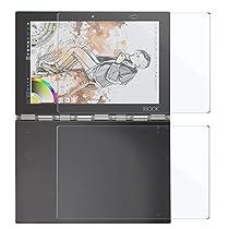 Lenovo Yoga Book 10.1 専用強化ガラスフィルム AVIDET 9H硬度の液晶保護 2.5D 0.2mm超薄型【日本板硝子社国産ガラス採用】耐指紋 撥油性 高透過率 ラウンドエッジ加工 (液晶用・ハロキーボード用)