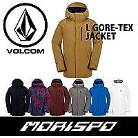 VOLCOM ボルコム L GORE-TEX JACKET G0651804 17-18 スノーボードウエア メンズジャケット M CHR [CHARCOAL]