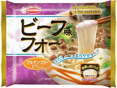 エースコック (袋)Pho・ccori気分 ビーフ味フォー 48g×10個